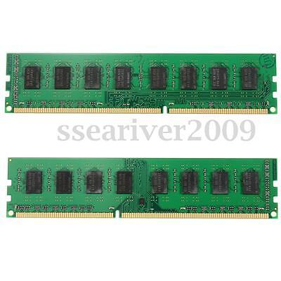 4GB(2x2GB)DDR3 PC3-12800 1600MHz 240-Pins Desktop DIMM Memory RAM High Density