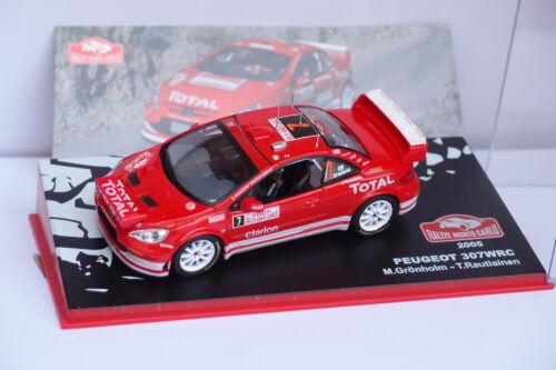 IXO ALTAYA PEUGEOT 307 WRC #7 MONTE CARLO 2005 1//43