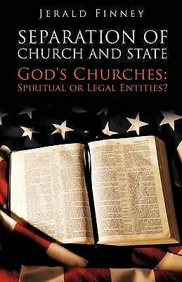 Seperation of Church and State, Paperback by Finney, Jerald, Brand New, Free ...
