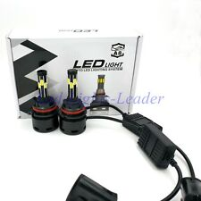 8 Sides LED 180W 18000LM 9004 HB1 Headlight Conversion Kit H/L Beam Bulbs 6000K
