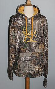 New-Bushmaster-REALTREE-Xtra-Camo-Hoodie-Mens-MEDIUM-Deer-Hunting-Sweatshirt