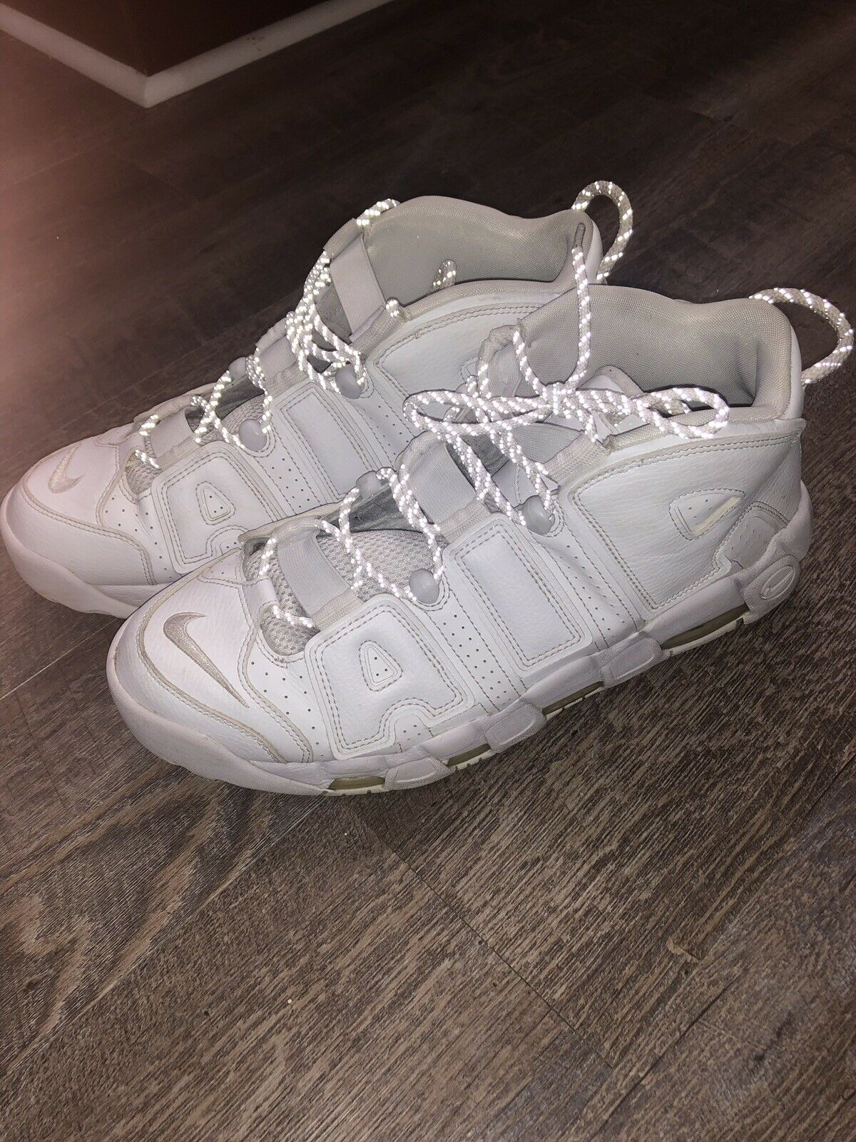 Nike Air More Uptempo '96 (921948-100) Men's shoes - White, 13 US