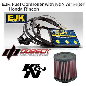 06 15 honda rincon 680 ejk fuel injection controller \u0026 k\u0026n air