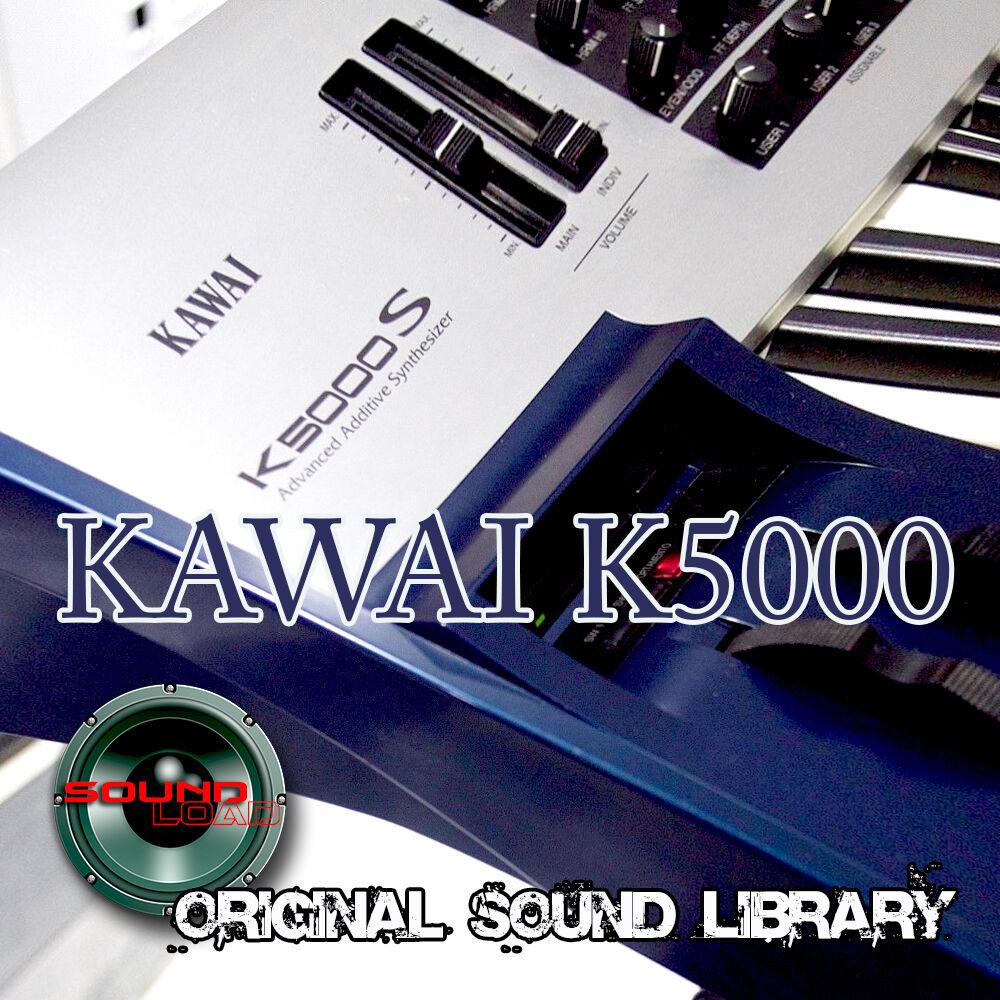 KAWAI K5000 - unique HUGE WAVE Multi-Layer Studio Sampl