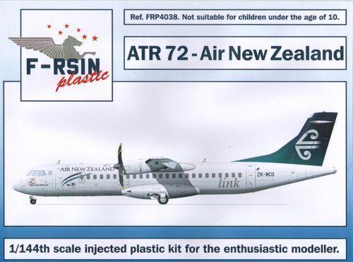 F-rsin plastic 1 144 ATR-72 Air New New New Zealand FRP4038 f62bca