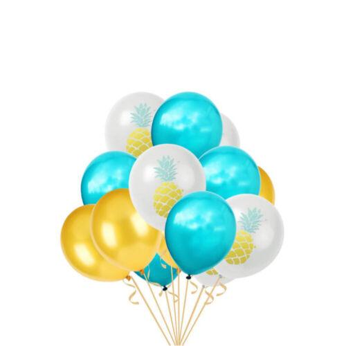 Luftballon Set Ananas Motiv Ballons Sommer Hawaii Motto Party Geburtstag Deko