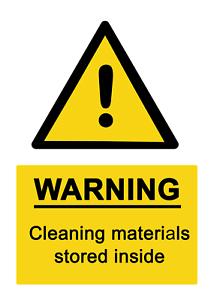 pic Sign Self Adhesive Vinyl Waterproof Sticker 4 x do not slam the door