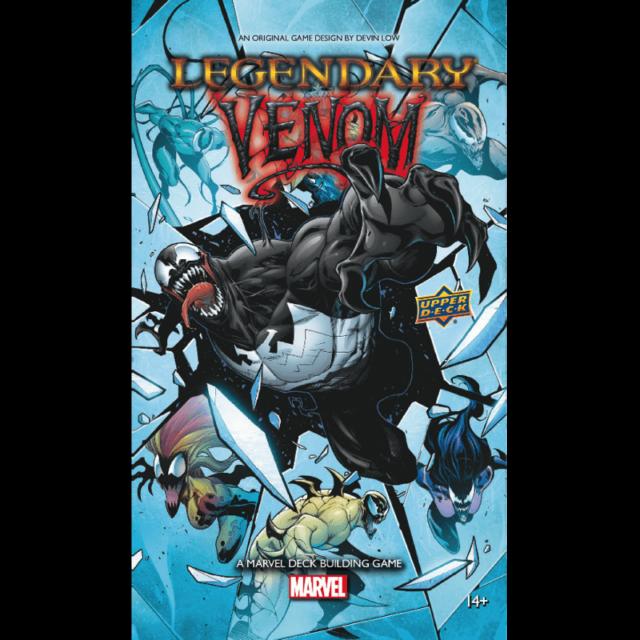 Legendary Venom Deck Building Card Game Expansion Marvel Upper Deck NEW SEALED