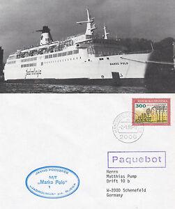 Croate Navire De Croisière Mt Marko Polo Un Des Navires En Cache Cover & Small Magazine Photo éGouttage
