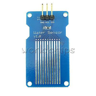 Rain Water sensor water Level Sensor module Depth of Detection for arduino Top