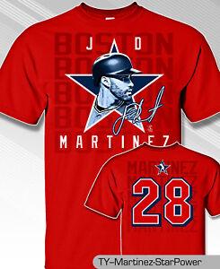 0a796c7d9 Image is loading JD-MARTINEZ-BOSTON-STAR-POWER-T-SHIRT-MLB1769F