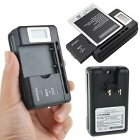 Universal Yiboyuan Battery Charger For All Mobile Cell Phone Pdas Camera Black