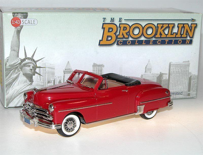 Brooklin BRK 170a 1950 Dodge Wayfarer Sport Roadster Cadet rot modelcar 1 43