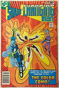 SHADE-THE-CHANGING-MAN-7-FN-1977-STEVE-DITKO-DC-BRONZE-AGE-COMICS