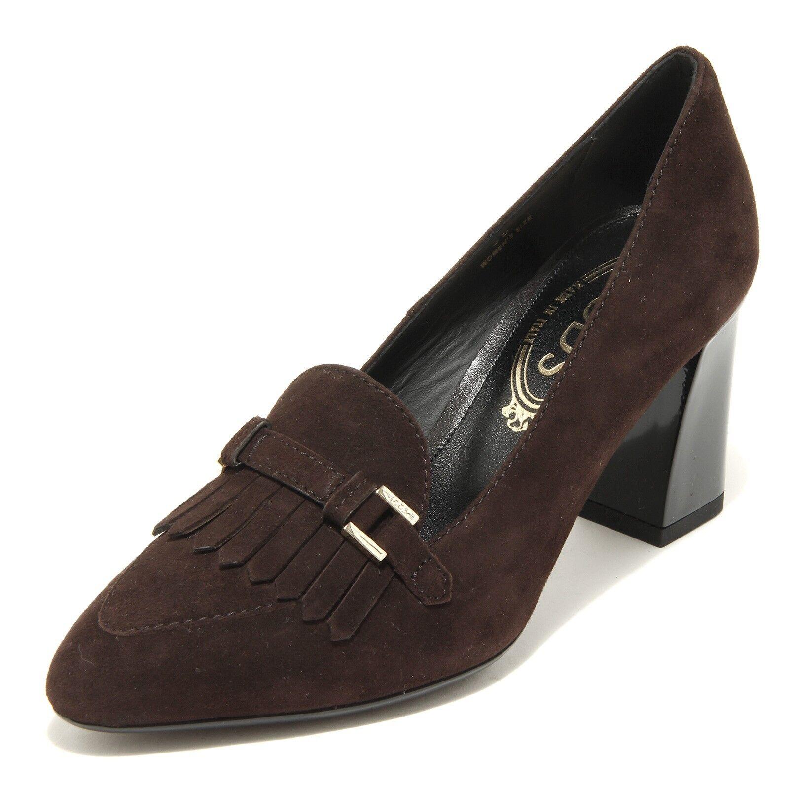 31143 scarpa decollete TOD 'S brown  scarpa 31143 donna shoes Donna marrone 3287e3