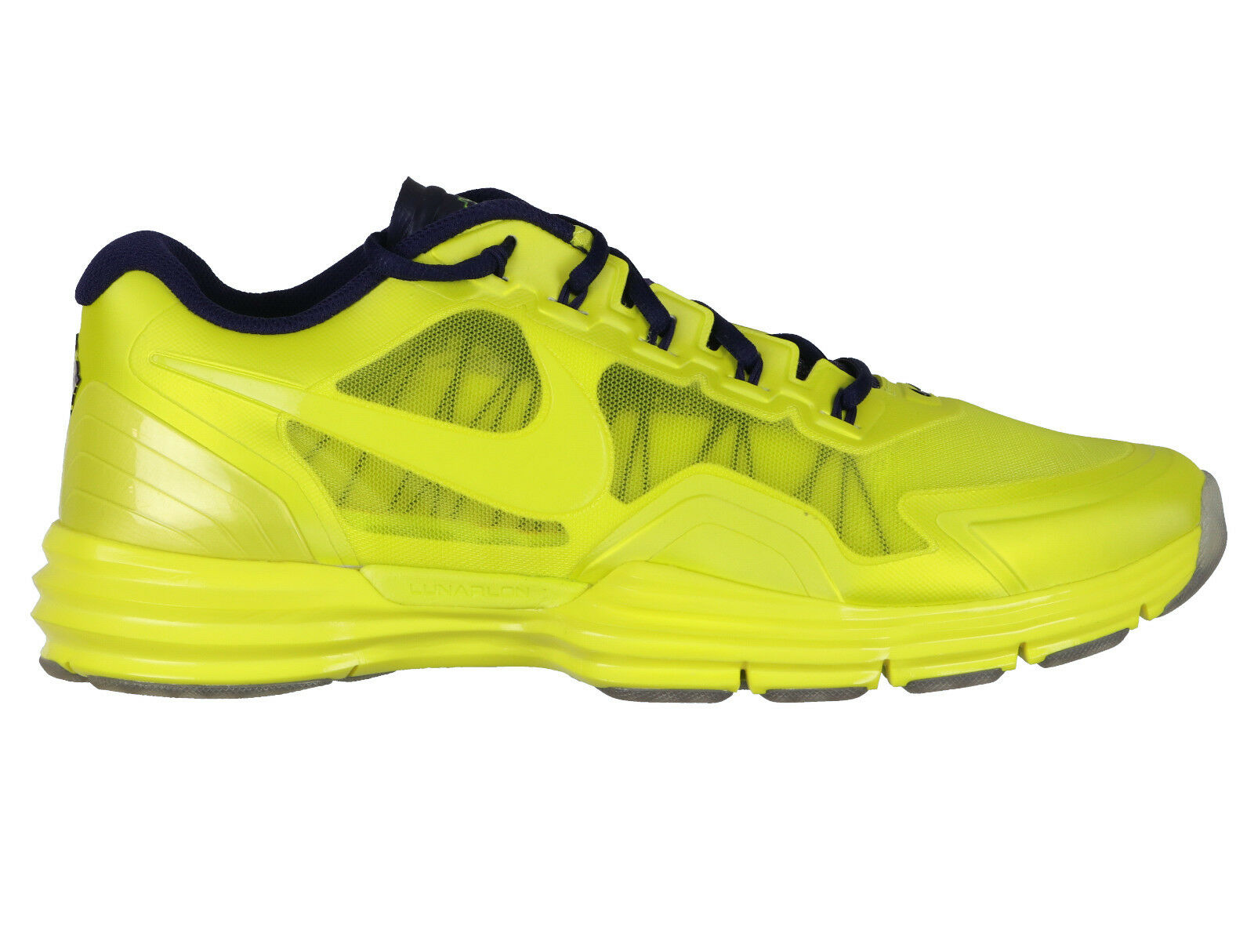 NIKE Lunar Super TR1 NOR sz 12 Super Lunar Bowl Edition Electro Lime Trainer One 1 NFL 04448a