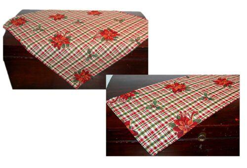 Hossner Tischdecke Weihnachten Gobelin Tischläufer Mitteldecke Weihnachtsstern