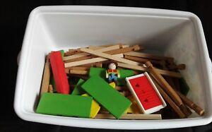 Jeujura maison forestière 8003 a construire en bois + belle boîte de rangement