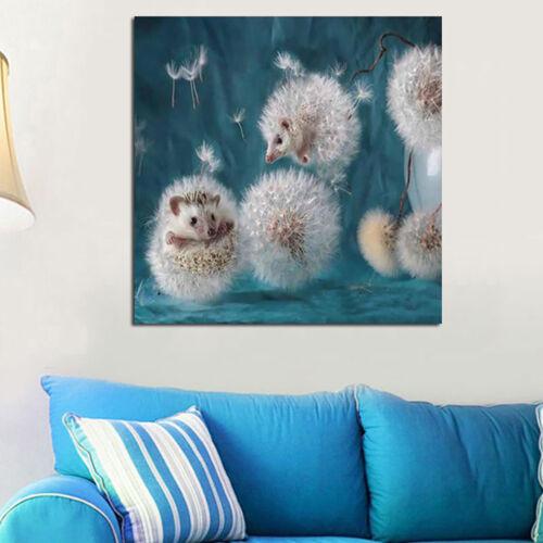 DI-KQ-BL-DIY-5D-Cute-Hedgehog-Dandelions-Full-Diamond-Painting-Wall-Art-Home