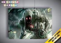Poster Fantasy Et Science Fiction Monsters Monstre Wall Art