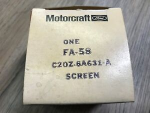 NOS Ford C2OZ-6A631-A 1965 Ford Mustang 289 V8 Crank Case Vent Screen OEM