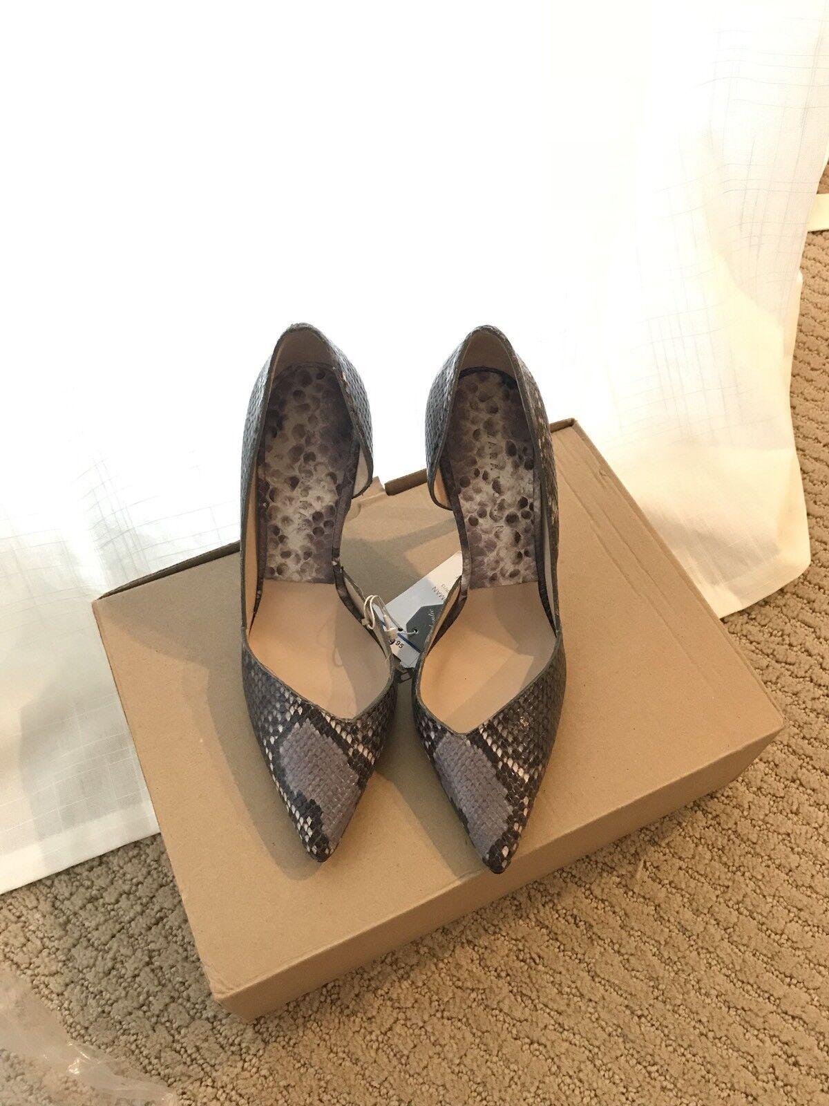 classico senza tempo Zara Snake Snake Snake Skin Leather Court scarpe Dimensione 6  economico in alta qualità