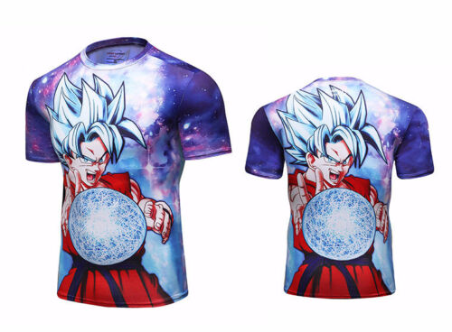 Arts Martiaux Mixtes Rash gurad jujutsu UFC GEAR BOXING Wear Jujitsu manga dragon ball tee shirt