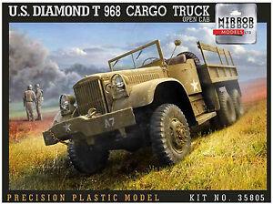 Mirror-Models-1-35-Diamond-T968A-Cargo-Truck-35805