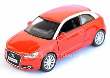 AUDI A1 1:32 Car Pull Back and Go Action Metal Model Miniature Die Cast Red