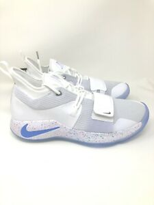 buy popular dda5d f0857 Details about Nike PG 2.5 Paul George Playstation White size 12 New DS  BQ8388-100 light up