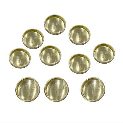 "Pioneer EPC18B-10 Brass Expansion Freeze Plugs 1 1//4/"" Cup 10 pcs"