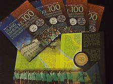 Malaysia 2012 100th Anniversary Pandu Puteri RM1 BU Coin Card (UNC)