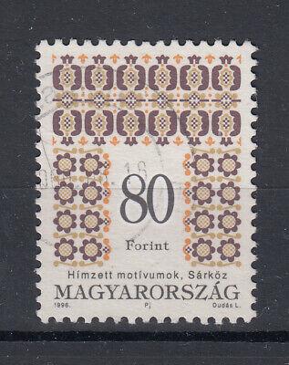 Briefmarken Briefmarken Ungarn 1996 Freimarken Folkloremotive Mi.4394 Gestempelt Niedriger Preis Europa