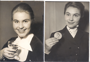 Foto Original Nadine Basil Portraits Promi Schauspieler Komiker