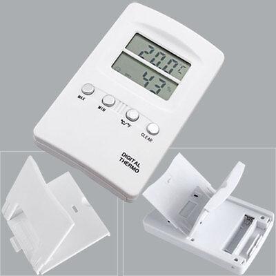 Digital Temperature Thermometer Humidity Hydrometer C F
