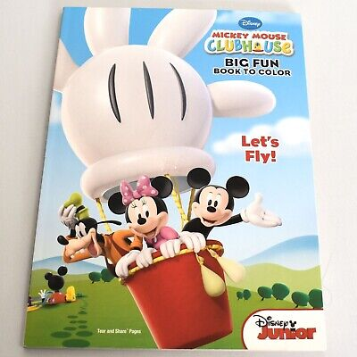 - Disney Mickey Mouse Clubhouse Big Fun Book To Color Coloring Book EBay