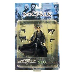 Matrix-Neo-Action-Figure-N2-Toys-Costume-Coat-Weapon-Gun-Movie-Warner-Bros-USA