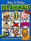 How to Draw 101 Animals: Easy Step-By-Step Drawing by Dan Green (Paperback, 2004)