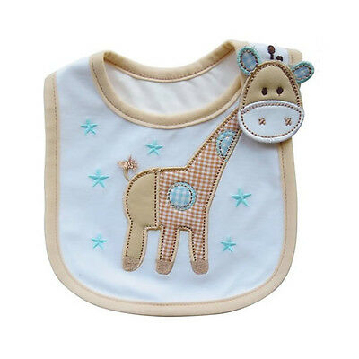 Newborn Baby Boy Girl Kids Cartoon Bibs Waterproof Saliva Feeding Apron Babadore