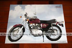 Bsa 500 B50 B 50 Gold Star 1972 - Poster Moto #pm135 Oxlbcjsy-07214822-949091557