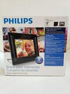 PHILIPS-Digital-Photo-Frame-8-034-in-model-8FF2FPB-Pre-owned