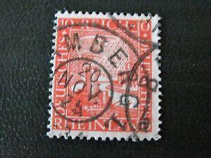 Deutsches Reich Briefmarke ca 1920 Rheinland gestempelt - Deutschland - Deutsches Reich Briefmarke ca 1920 Rheinland gestempelt - Deutschland