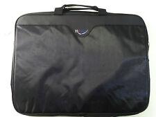 "Hipoint nero laptop notebook Macbook Folio Cover Borsa per trasporto leggero 16""x12"""