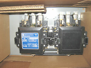100 amp 3 phase 120v onan transfer switch contactor nib ebay. Black Bedroom Furniture Sets. Home Design Ideas