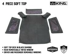 Premium Replacement Soft Top And Tinted Windows 2007 2009 Jeep Wrangler Jk 2dr Fits Wrangler