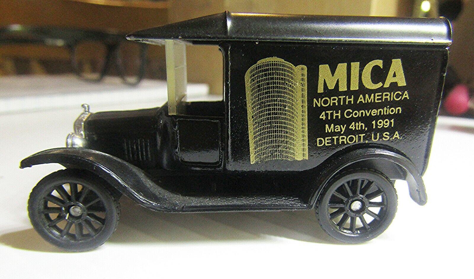 suministro de productos de calidad Vintage Matchbox código 2 antaño Ford modelo T de    1921  1991 Mica nth America  liquidación hasta el 70%