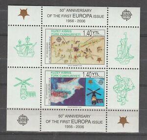 S36826 Turkish Cyprus Europa Cept MNH 2006 S/S
