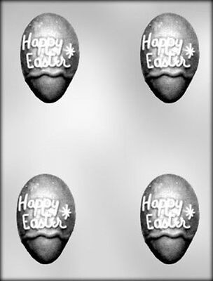 HAPPY EASTER EGG 3D FILLABLE CHOCOLATE CANDY MOLD DIY EASTER PARTY FAVORS |  eBay