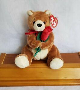"""Ty Always the Bear 5"""" Original Beanie Babies w/ Tag 2004 Retired Valentine Teddy"""