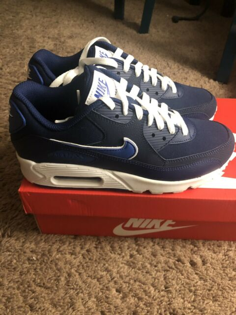 release date: 2b62e a1050 MENS SIZE 6 NIKE AIR MAX 90 ESSENTIAL SNEAKERS BLUE VOID AJ1285-401